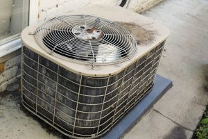 old-rusty-outdoor-unit-of-ac
